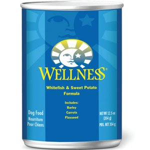 Wellness Whitefish and Sweet Potato Canned Dog Food, My Pet Supplies