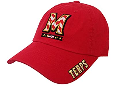 Top of the World Maryland Terrapins TOW WOMEN Red Chevron Crew State Adjustable Slouch Hat Cap by Top of the World