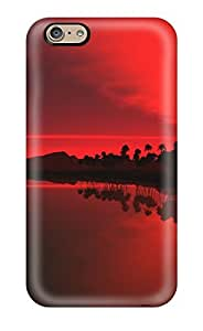 CYBRXSs6191qgrEW Tpu Case Skin Protector For Iphone 6 Red Sunset Earth Nature Sunset With Nice Appearance