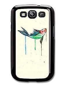 AMAF ? Accessories Goldfish Watercolor Original Art case for Samsung Galaxy S3