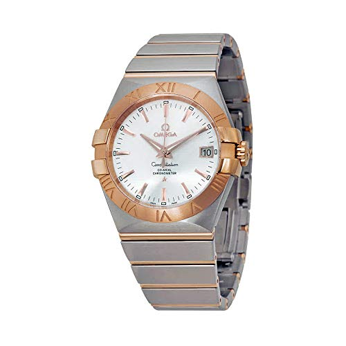 - Omega Constellation Automatic Chronometer Silver Dial Men's Watch 123.20.35.20.02.001