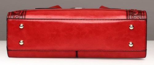 Cambered Bag Satchel Red Shoulder QZUnique Crossbody Chinese Handbag Ethnic Women's Style 1zB0q4Xw