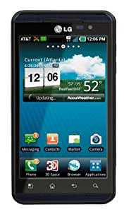 LG Thrill 4G P925 Unlocked GSM Android Cell Phone - Black - AT&T- No Warranty