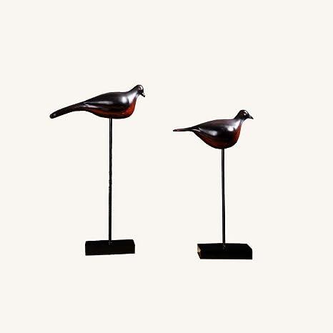 Estatuilla de decoraciónEstatuilla de decoración Resina Aves ...