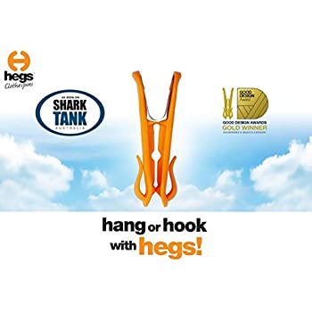 HEGS Clothespin 18 Pack: As seen on SharkTank AU