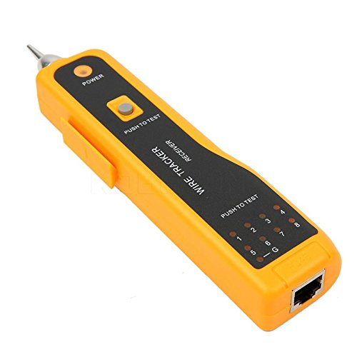Ocamo Handheld Cable Tracer with Earphone High Sensitive Telephone Cable Tester Wire Tracker