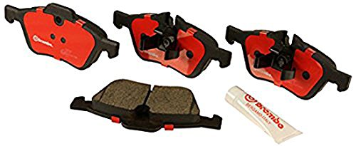 Brembo North America Brake Pad Set with Shim, Ceramic