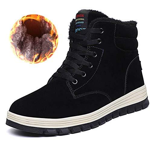 Quickshark Men Snow Boots Waterproof Winter Boots High Top Sneaker Outdoor  Non-Slip Snow Shoes 2153174d5662