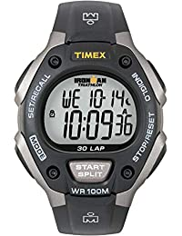 Men's T5E901 Ironman Classic 30 Gray/Black Resin Strap Watch