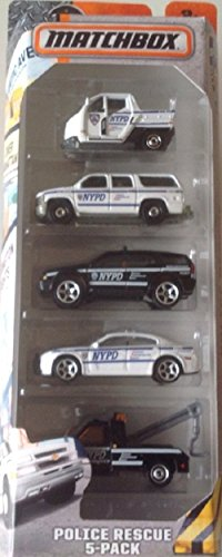 (Matchbox, 2016 NYPD Police Rescue 5-Pack)