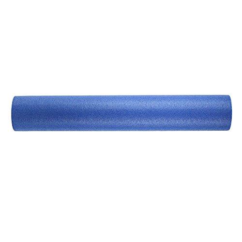 CanDo PE Blue Foam Roller, 6' X 36', Round
