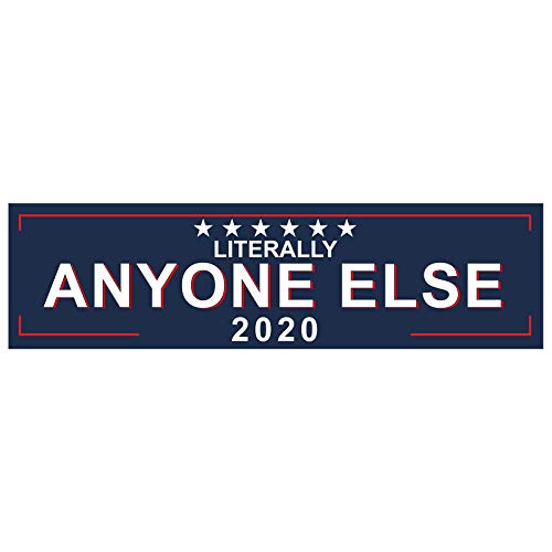 [해외]EvolveFISH Literally Anyone Else 2020 범퍼 스티커 27.94cm x 7.6cm / EvolveFISH Literally Anyone Else 2020 Bumper Sticker 11 x 3