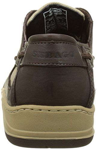 Scarpe Sebago Il da Marrone Barca Dk Clovehitch Uomo Brown Leather wwCpxqvg