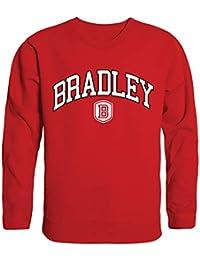 Bradley University Bradley Braves NCAA Men's Campus Crewneck Fleece Sweatshirt