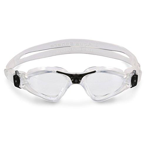 Aqua Sphere Kayenne Goggle With Clear Lens, Clear/Black, Regular