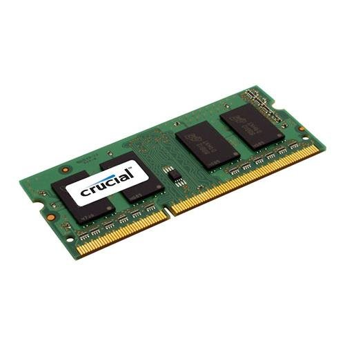 Thinkpad R30 Series Memory (Crucial 4GB Single DDR3/DDR3L 1600 MT/S (PC3-12800) Unbuffered SODIMM 204-Pin Memory - CT51264BF160B)