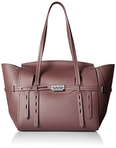 ZAC Zac Posen Eartha Belted Satchel, Purple