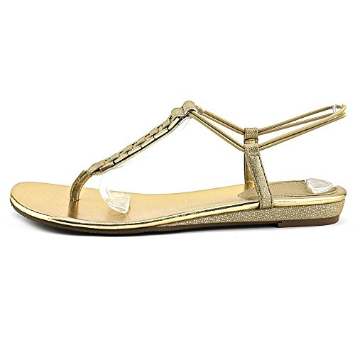 Style & Co. - Sandalias de vestir para mujer champán