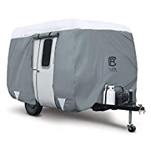 """Classic Accessories PolyPro 3 Molded Fiberglass Camping Trailer Cover, 13'1""""-16' Long"""