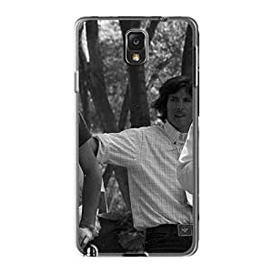 Scratch Resistant Hard Cell-phone Case For Samsung Galaxy Note3 (AoY16768JSbA) Provide Private Custom High Resolution Rise Against Skin