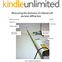 Measuring the diameter of a blood cell via laser diffraction