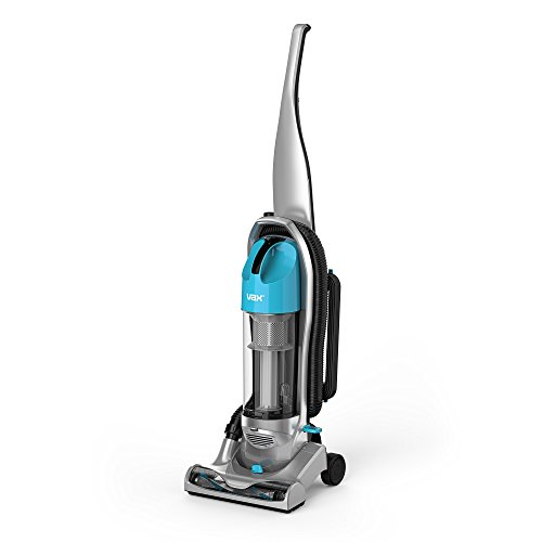 Vax UCNBAWP1 Power Nano Bagless Upright Vacuum Cleaner, 850 W, 2 Liters, Grey/Blue