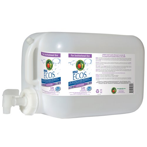 Earth Friendly Products Proline PL9755/05U ECOS Lavender Scented Liquid Laundry Detergent, 5 gallon Deltangular by Earth Friendly Proline
