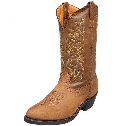 "Laredo Men's 12"" Trucker boot,Tan Distressed,11.5 D US"