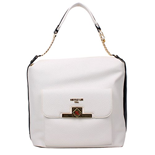 solid-elegant-color-textured-eco-leather-nicole-lee-hobo-bag-white