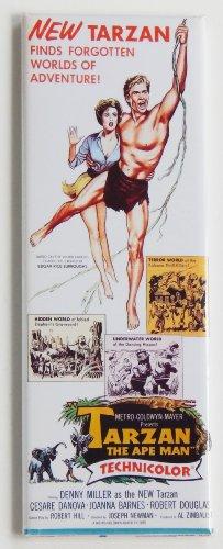 Tarzan the Ape Man (1959) Movie Poster (1.5 x 4.5 inches)