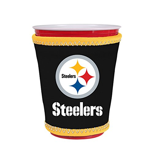 kolder-kup-holder-coolie-for-pint-glasses-solo-cups-coffee-ice-cream-pittsburgh-steelers