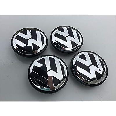 DBGV Fits VW Volkswagen Wheel Hub Center Cap, 65mm, Golf, Beetle, Jetta, Passat, Tiguan: Automotive