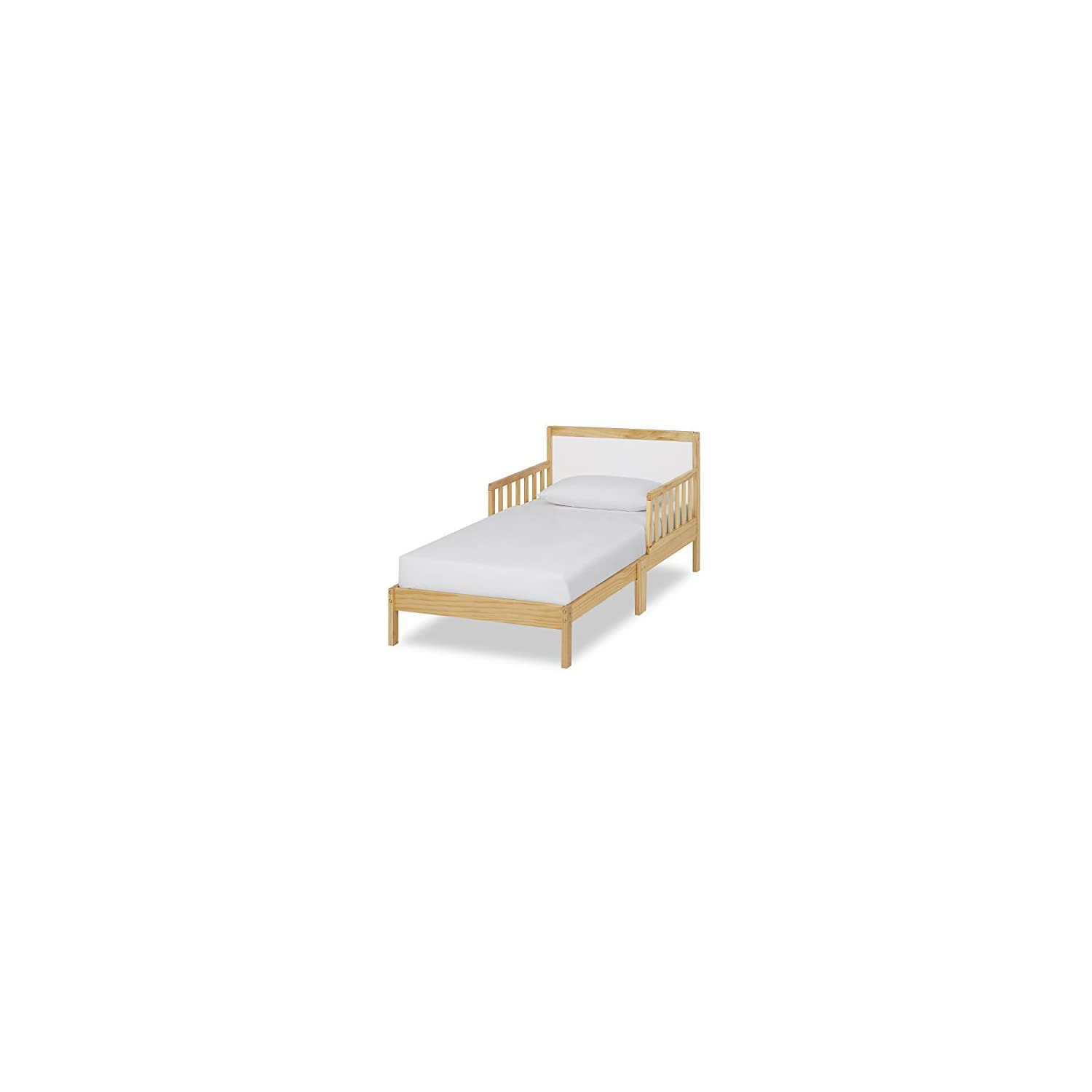 Dream On Me Brookside Toddler Bed, Natural White