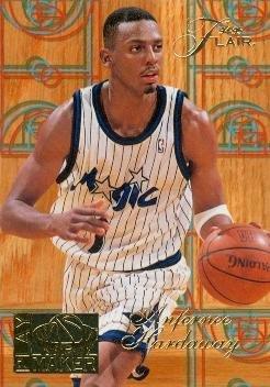 - Anfernee Hardaway Basketball Card (Orlando Magic) 1995 Fleer Flair #4