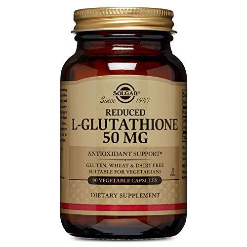 Solgar - Reduced L-Glutathione 50 mg, 90 Vegetable Capsules (Solgar L Glutamine 500 Mg Vegetable Capsules)