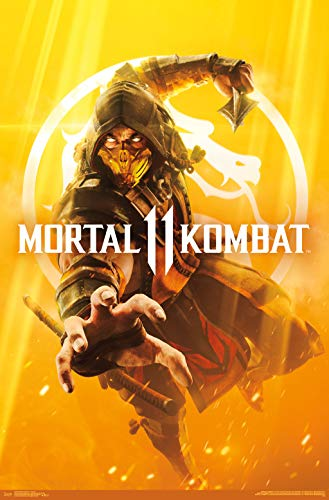 Trends International Mortal Kombat 11 - Key Art Wall Poster 22.375