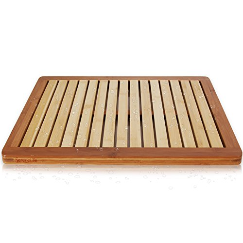 Bamboo Wood Bathroom Bath Mat