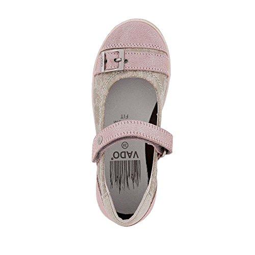 Vado 54303-310 - Bailarinas de Piel para niña beige 310 blush Rosa