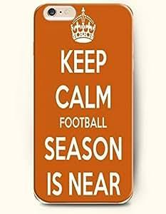 SevenArc Hard Phone Case for Apple iPhone 6 Plus ( iPhone 6 + )( 5.5 inches) - Keep Calm Football Season Is Near...