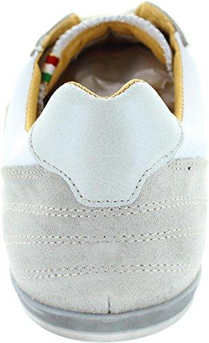Pantofola d'Oro Rotella Uomo Low, Sneaker uomo bianco White
