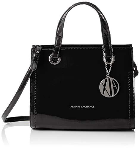 Tote Donna Bag Exchange black Small Shopping Armani Borse Nero PSaZXwxqS