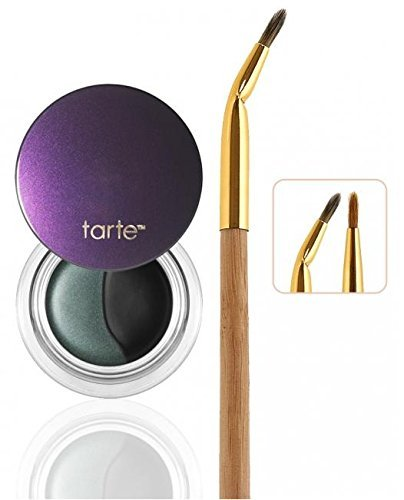 tarte Prismatic Amazonian Clay Dual Liner with Brush For BROWN Eyes (green/black liner)