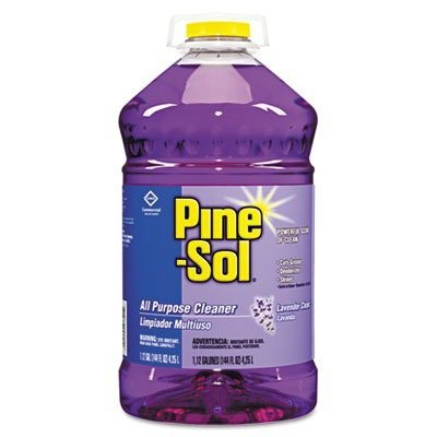 (Pine-Sol All Purpose Cleaner - Liquid Solution - 144 fl oz (4.5 Quart) - Lavender Scent - Purple)