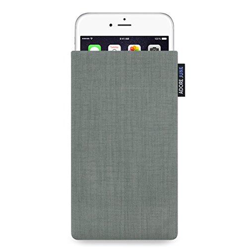 Adore June Classic Hülle für Apple iPhone 6 Plus / 6s Plus und iPhone 7 Plus - original Cordura - silber