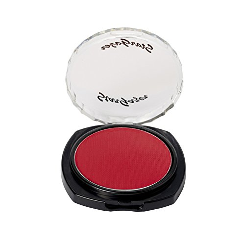 Stargazer Eye Shadow Deep Red - Contact Lenses Pitch Black