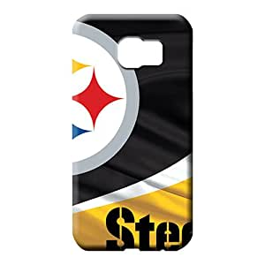 samsung galaxy s6 edge Popular Protective pattern phone case skin pittsburgh steelers nfl football