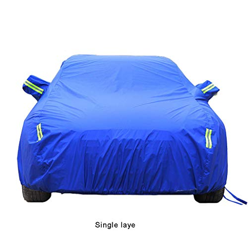 - Car Cover GLP Fully Waterproof Anti UV Sun is for Covers Porsche Cayenne, Oxford Cloth/Cotton Lining All Weather Durable Protective Shield (Color : C, Size : 2018 Style)