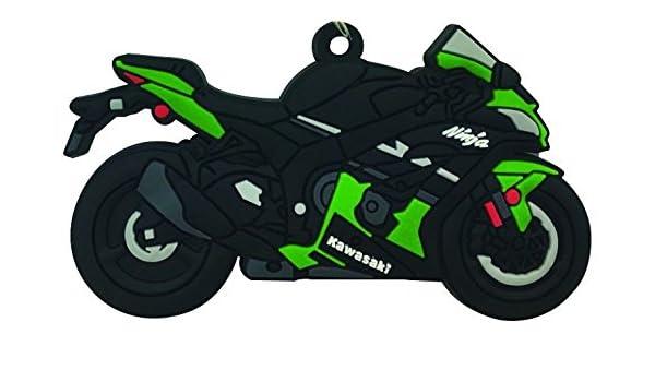 Goma Llavero Kawasaki ZX10R: Amazon.es: Coche y moto