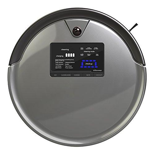 bObsweep PetHair Plus Robotic Vacuum Cleaner and Mop, Charcoal (Robotic Vacuum Bobsweep compare prices)