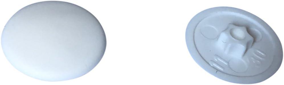 Abdeckkappen f/ür Senkkopfschrauben Fensterrahmenschrauben Fensterschrauben /ø7,5mm Fensterrahmenschrauben Fensterschrauben /ø7,5mm /– Senkkopf, L/änge : 212mm, 40 St/ück Senkkopf